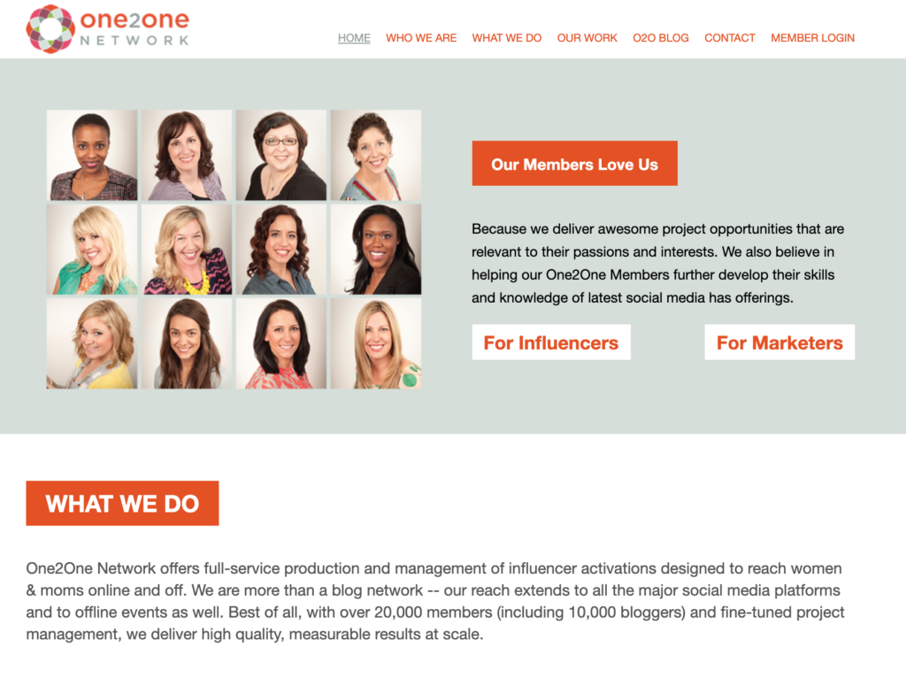 One 2 One Network